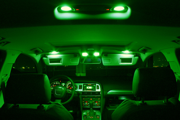 smd led innenraumbeleuchtung bmw x3 e83 15 leds xenon gr n ebay. Black Bedroom Furniture Sets. Home Design Ideas