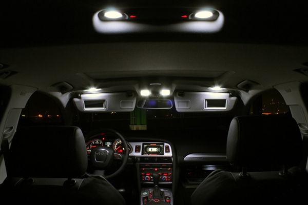Audi A6 LED Innenraumbeleuchtung