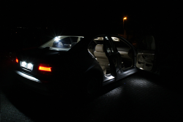 BMW E39 LED Innenraumbeleuchtung