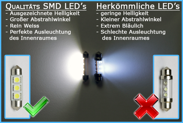 Seat Altea 5P1 FR XL Freetrack LED Innenraumbeleuchtung