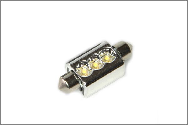 2x 3SMD C5W SMD LED CANBUS Soffitte